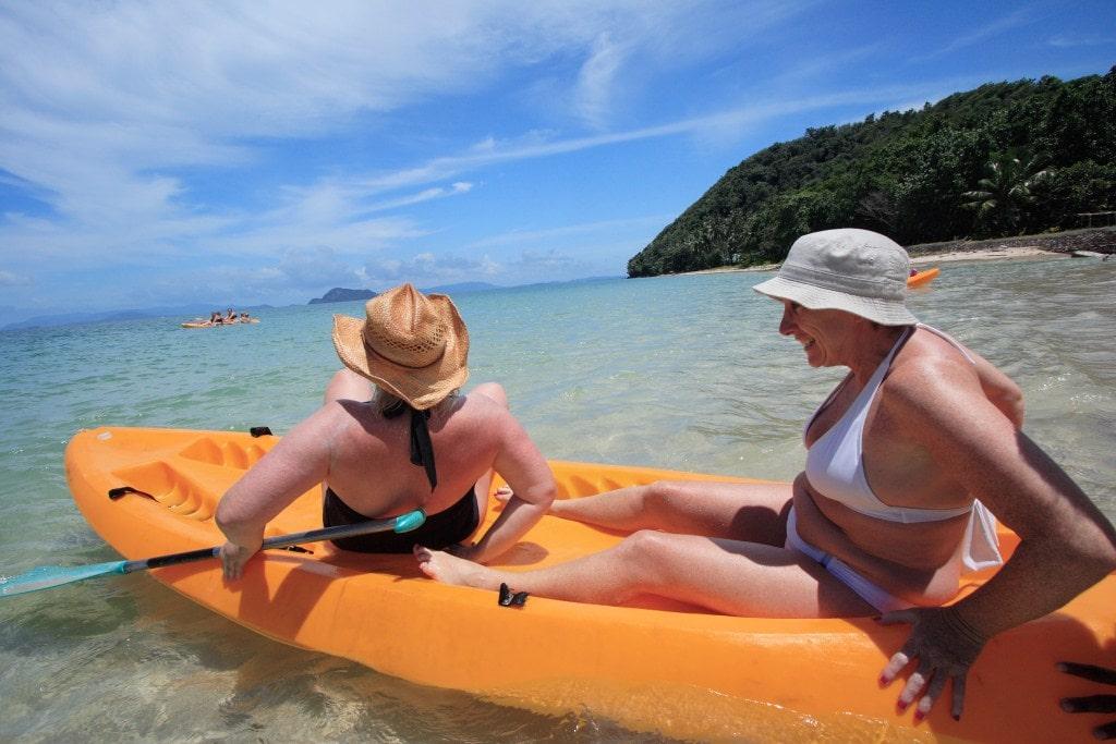 Kayaking Koh Yao