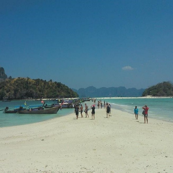Krabi 4 Islands beach