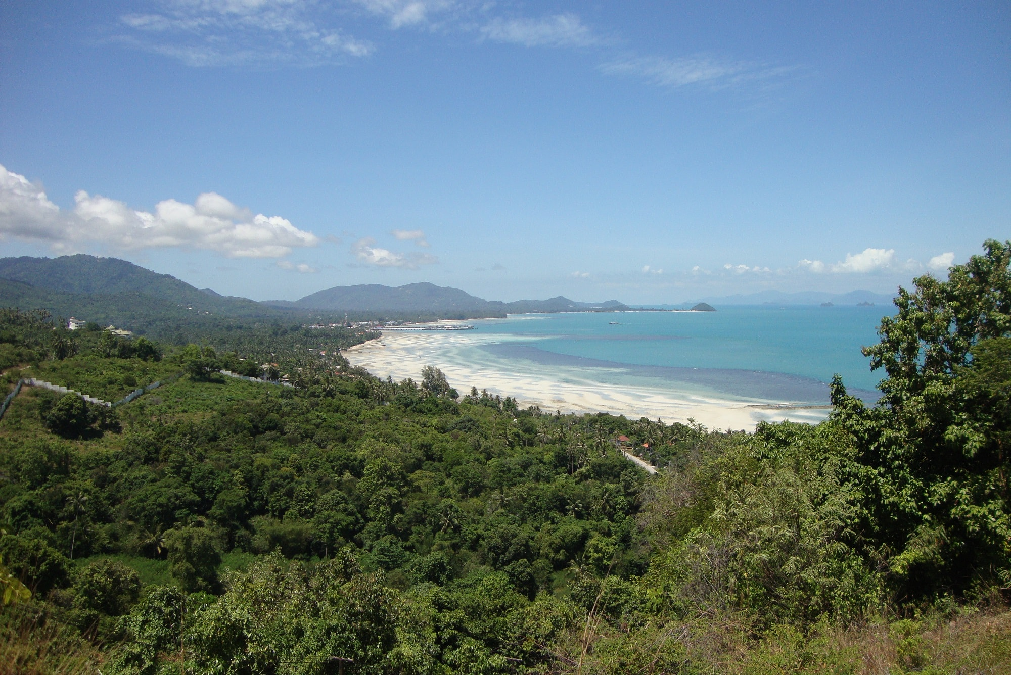 Koh Samui west coast