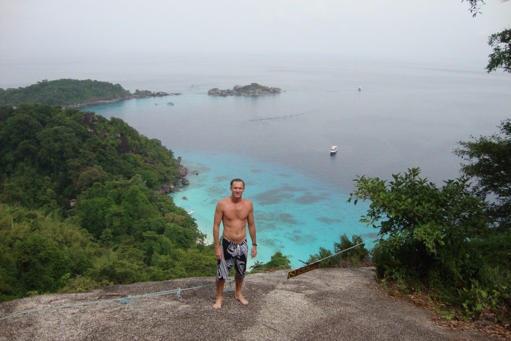 Similan Islands viewpoint