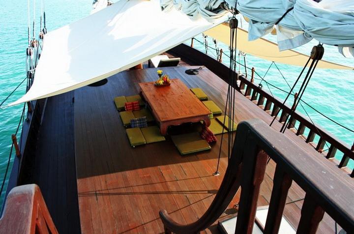 Diva Andaman deck