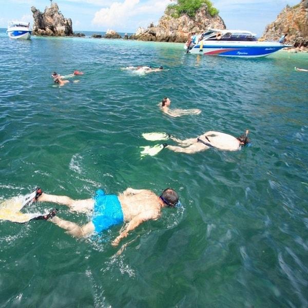 Khai islands snorkelling