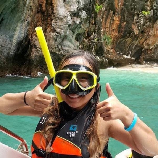 Krabi snorkeler