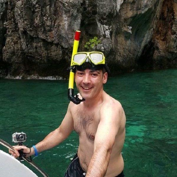 Phi Phi snorkeler