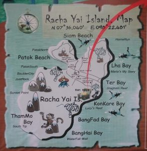 Racha Yai map