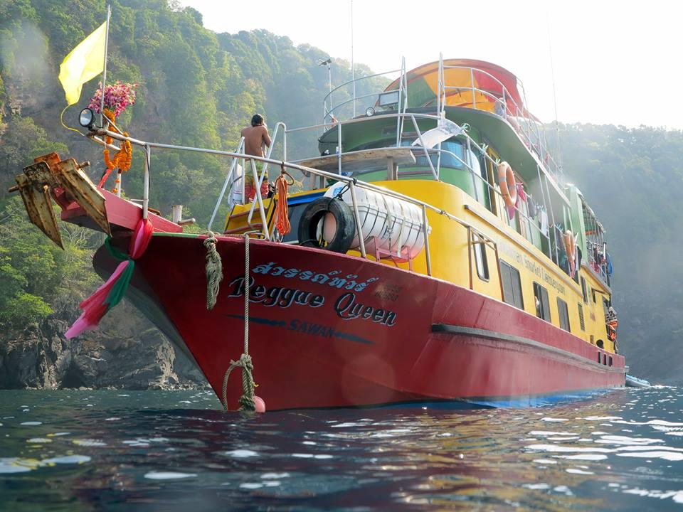 Koh Tachai snorkeling liveaboard Reggae Queen