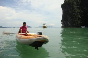 Phang Nga bay sea kayaking tours