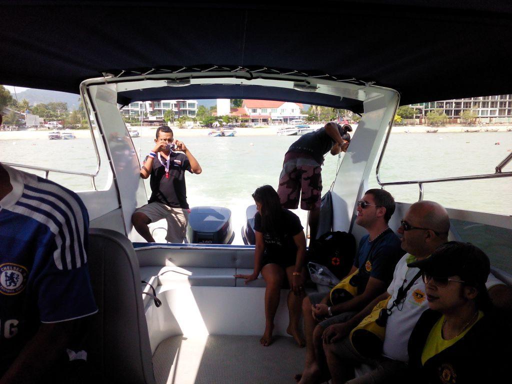 Speedboat to Racha Yai
