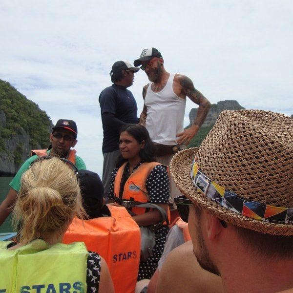 Blue Stars kayaking tour