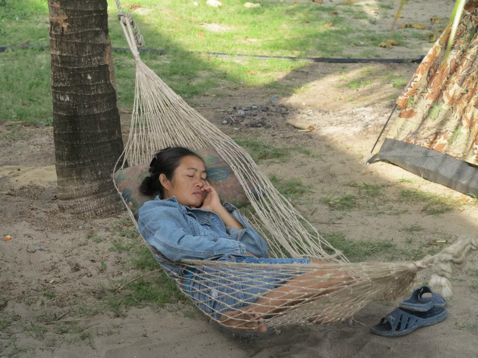 hammock at Surin Islands