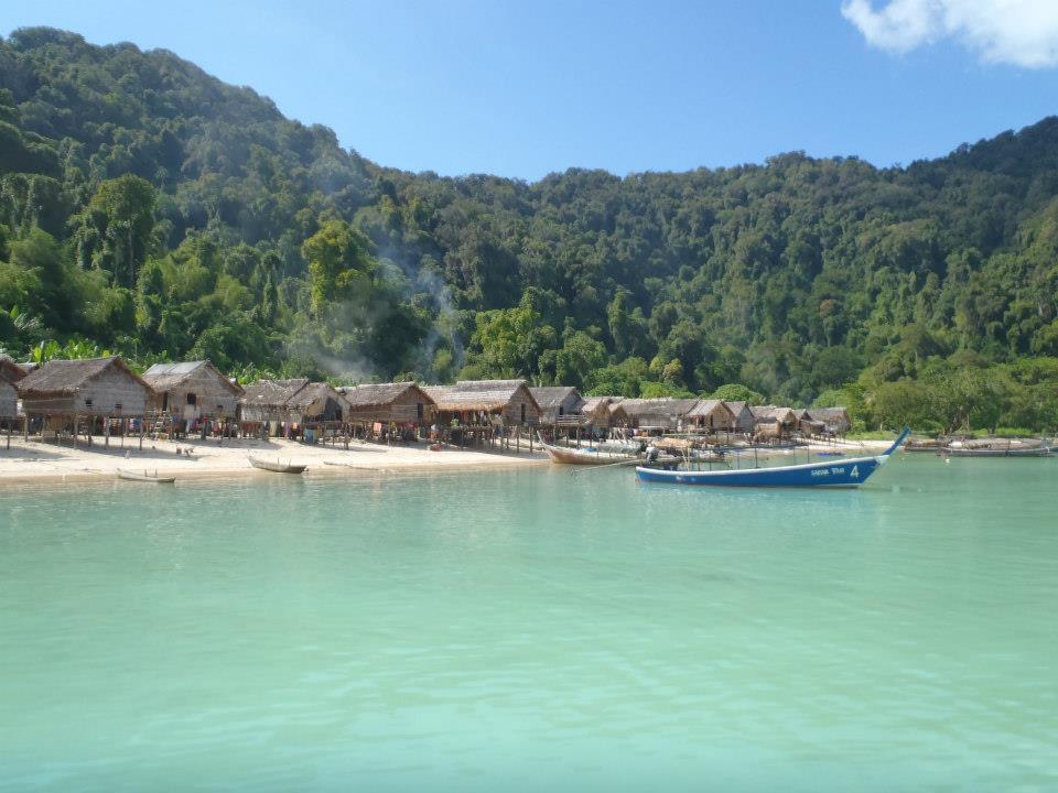 Moken village Koh Surin
