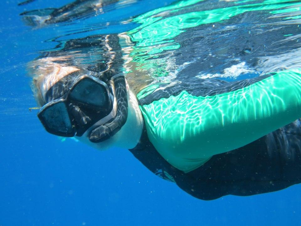 snorkeler Similans