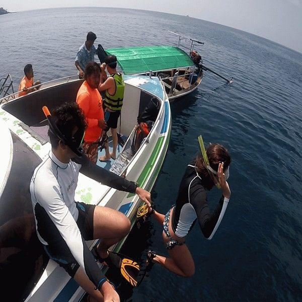Surin Islands day trip by speedboat