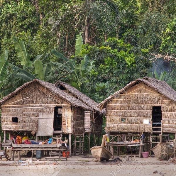 Moken house