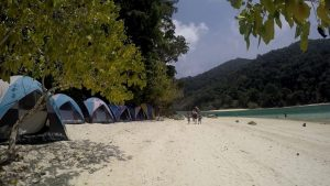 Surin Islands campsite