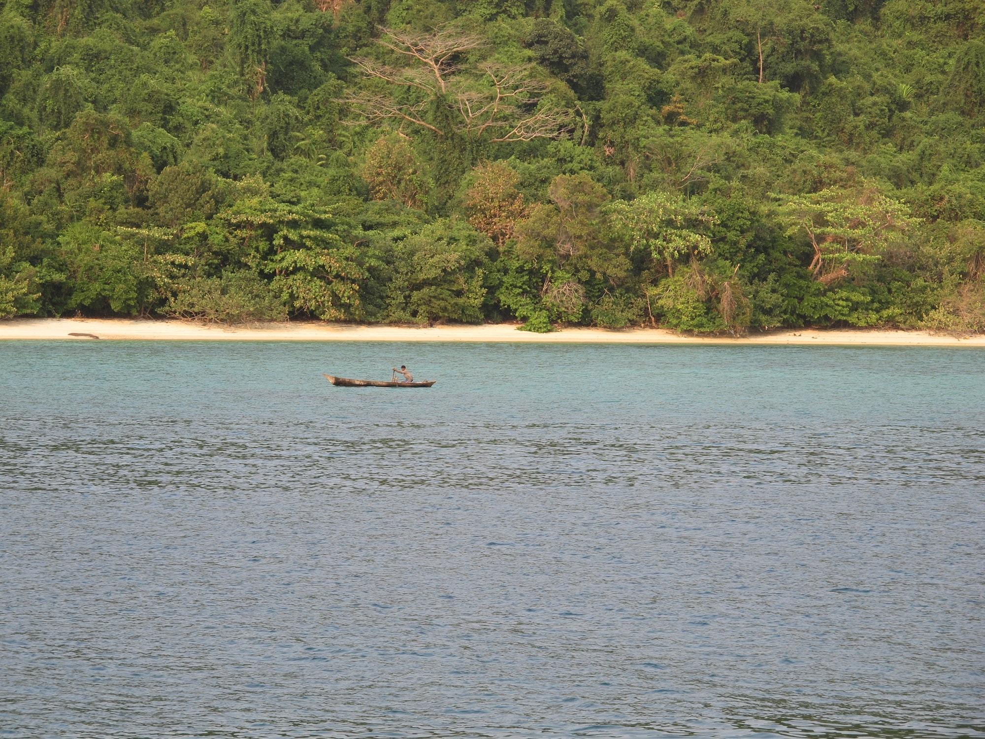 Myanmar deserted beach