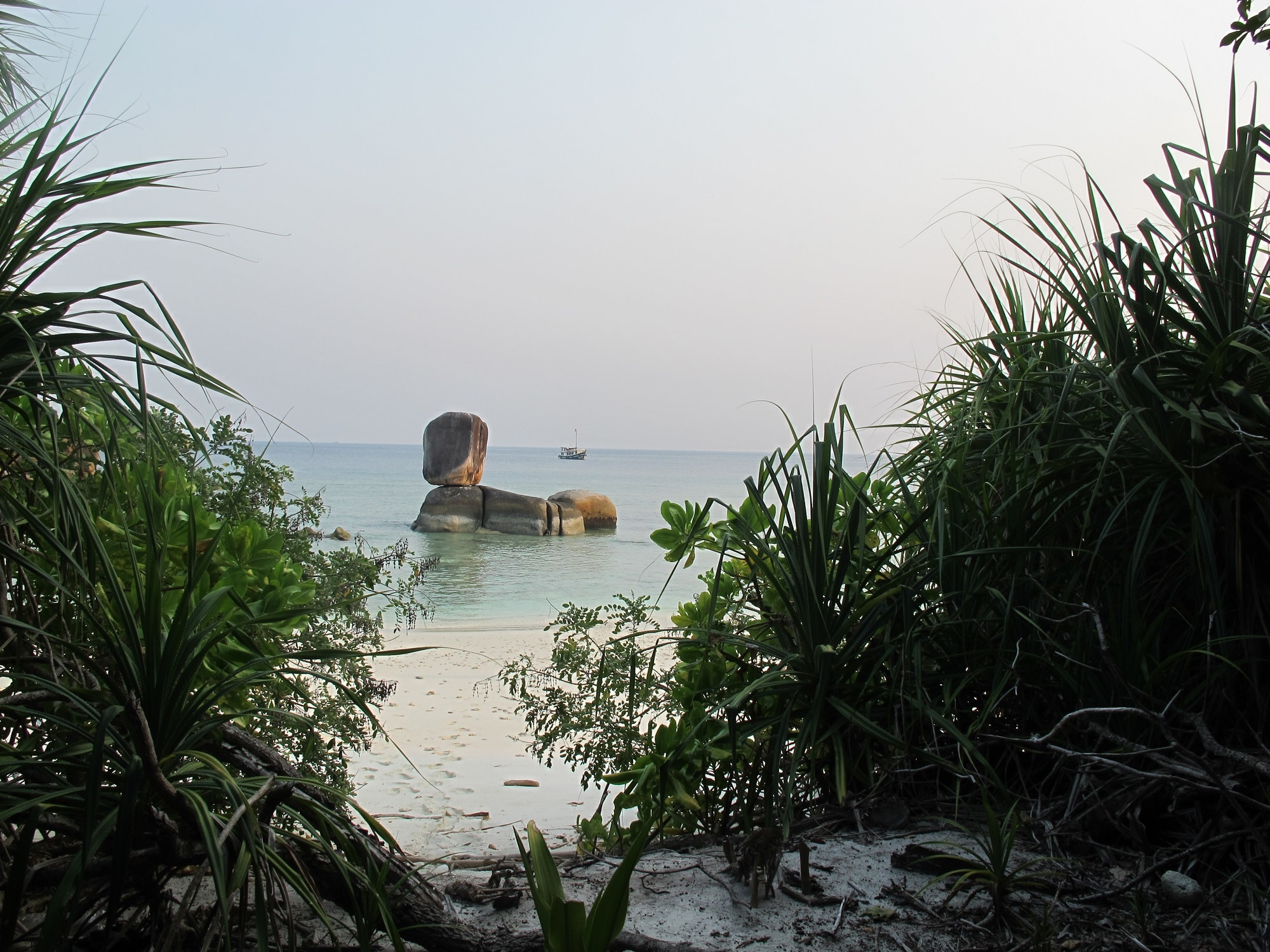 Myanmar island beach