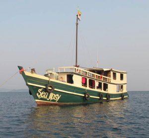 Sea Gipsy Myanmar snorkeling liveaboard