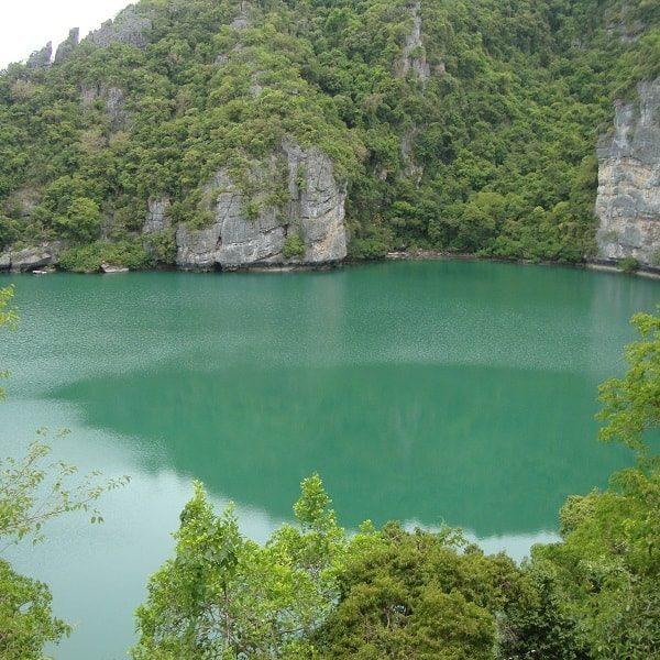 Angthong Emerald Lake