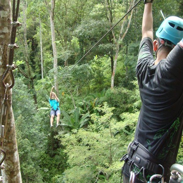 Flying Hanuman Phuket Zipline