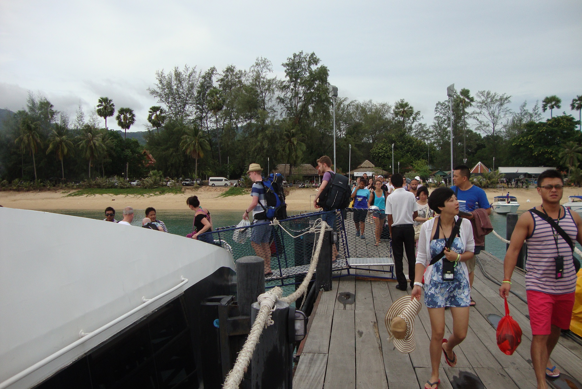 Ferry to Koh Tao