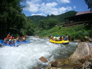 Phang Nga White Water rafting