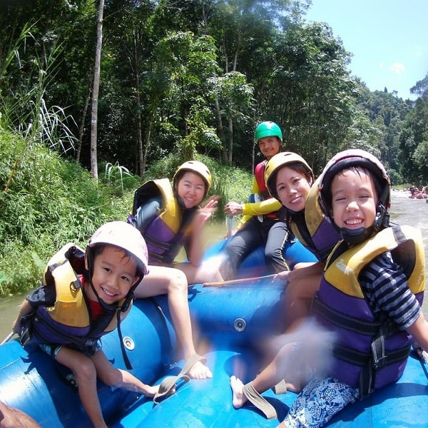 White Water rafting Phang Nga bay