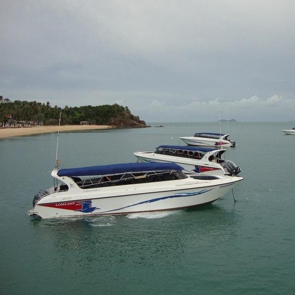 Speedboat Koh Tao