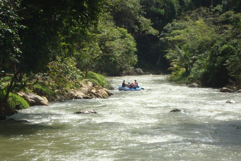 White water rafting Phang Nga