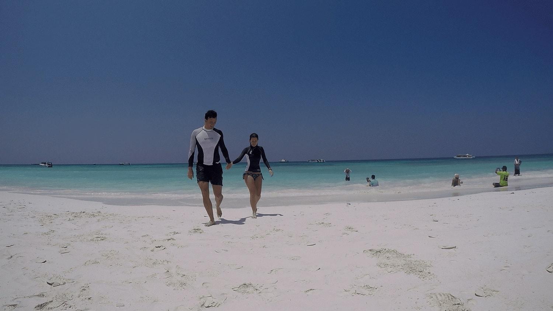 Beach at Surin Islands