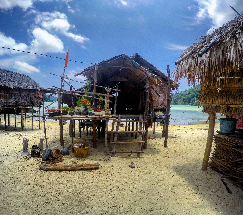 Moken house Surin Islands