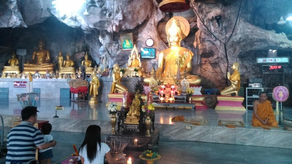 Krabi cave temple