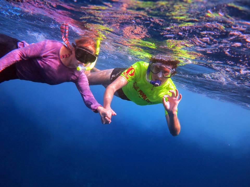 snorkelers