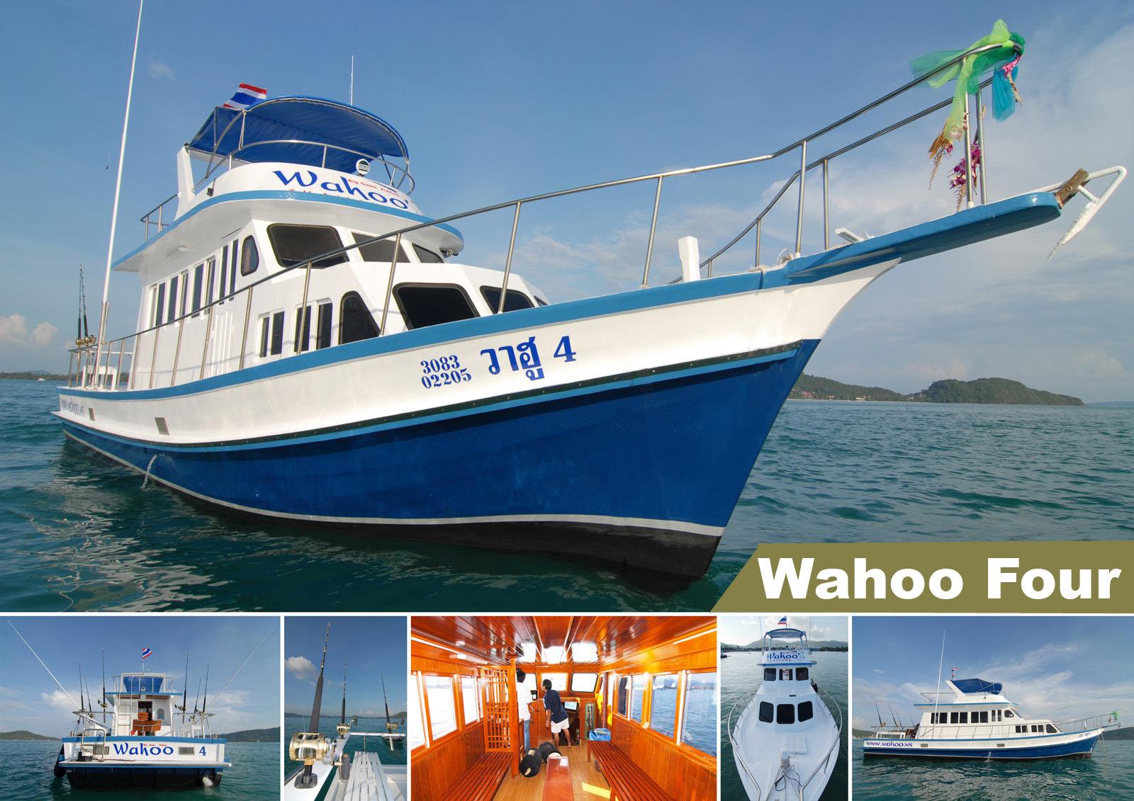 Wahoo 4 Phuket fishing boat