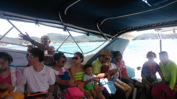 Speedboat to Racha Yai