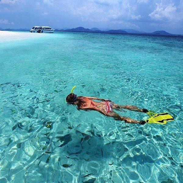 Snorkeling at Bamboo Island