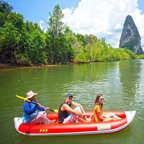Phang Nga bay sea kayaking
