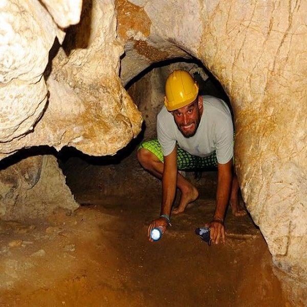 Phang Nga bay caving