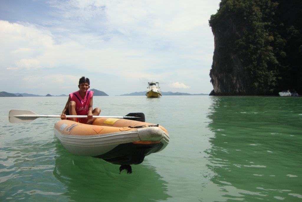 Sea Canoe Phang Nga bay