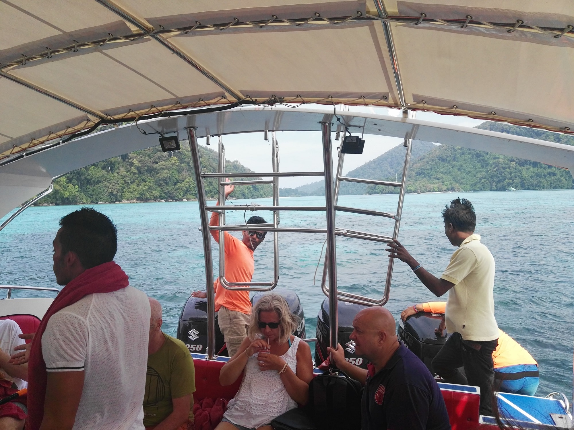 Surin Islands speedboat