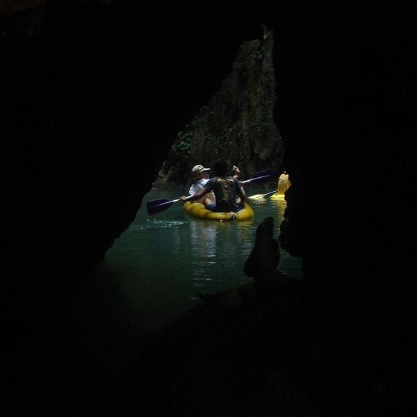 John Grey Sea Canoe Hong By Starlight