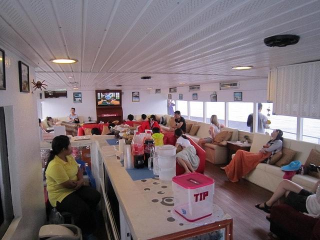 Jet Cruiser Premium lounge