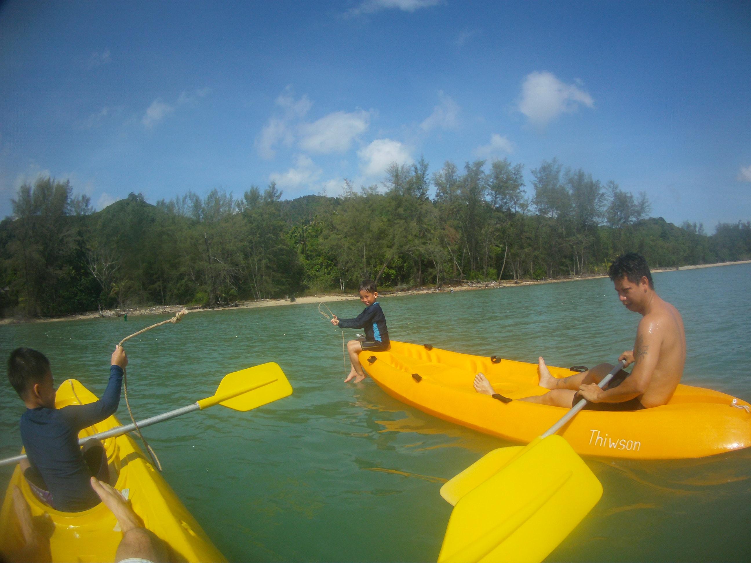 Koh Yao Yai kayaks