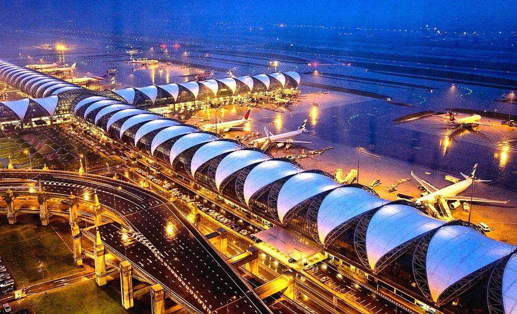 Bangkok airport Suvarnabhumi