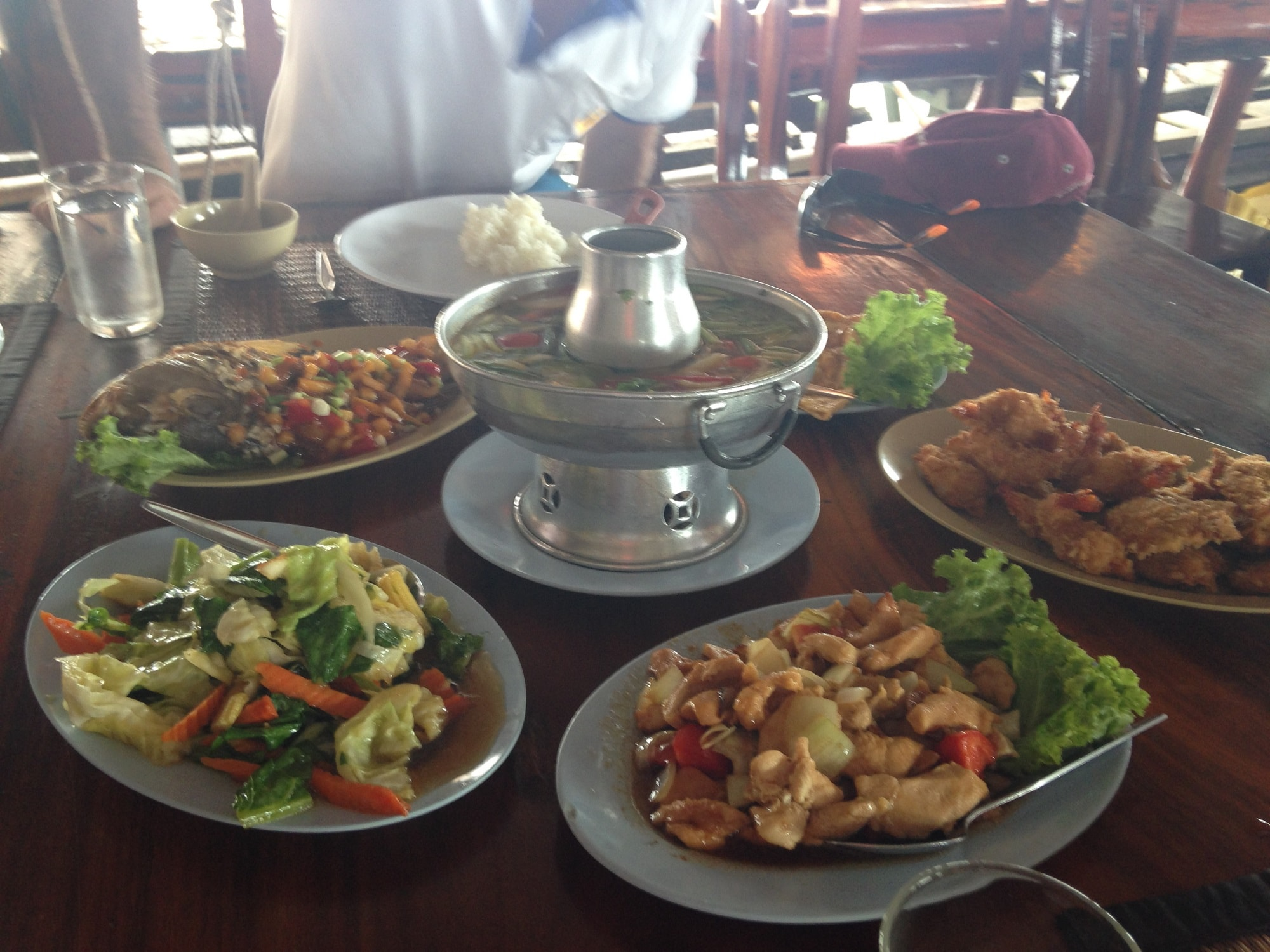 Private Phang Nga lunch