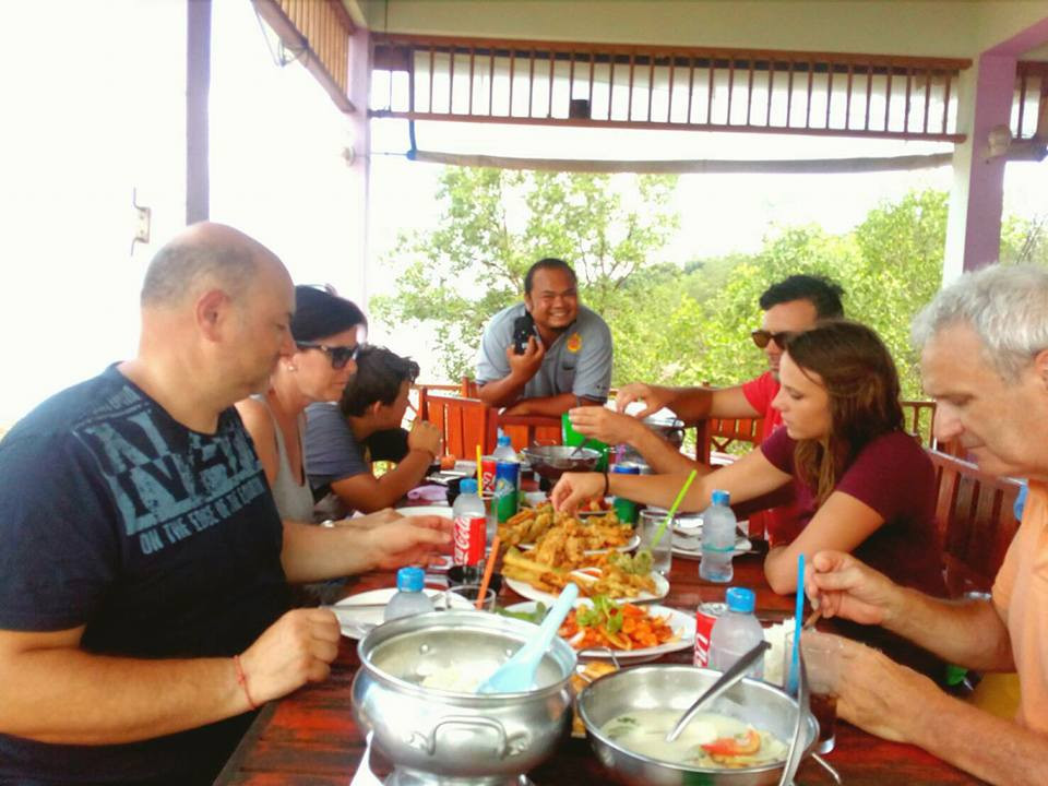 Private Phang Nga lunch at Koh Panyee