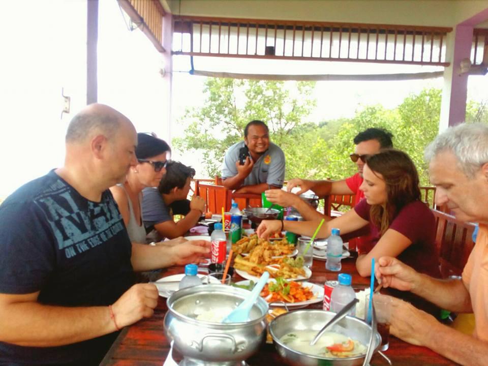 Private Phang Nga lunch at Koh Panyee