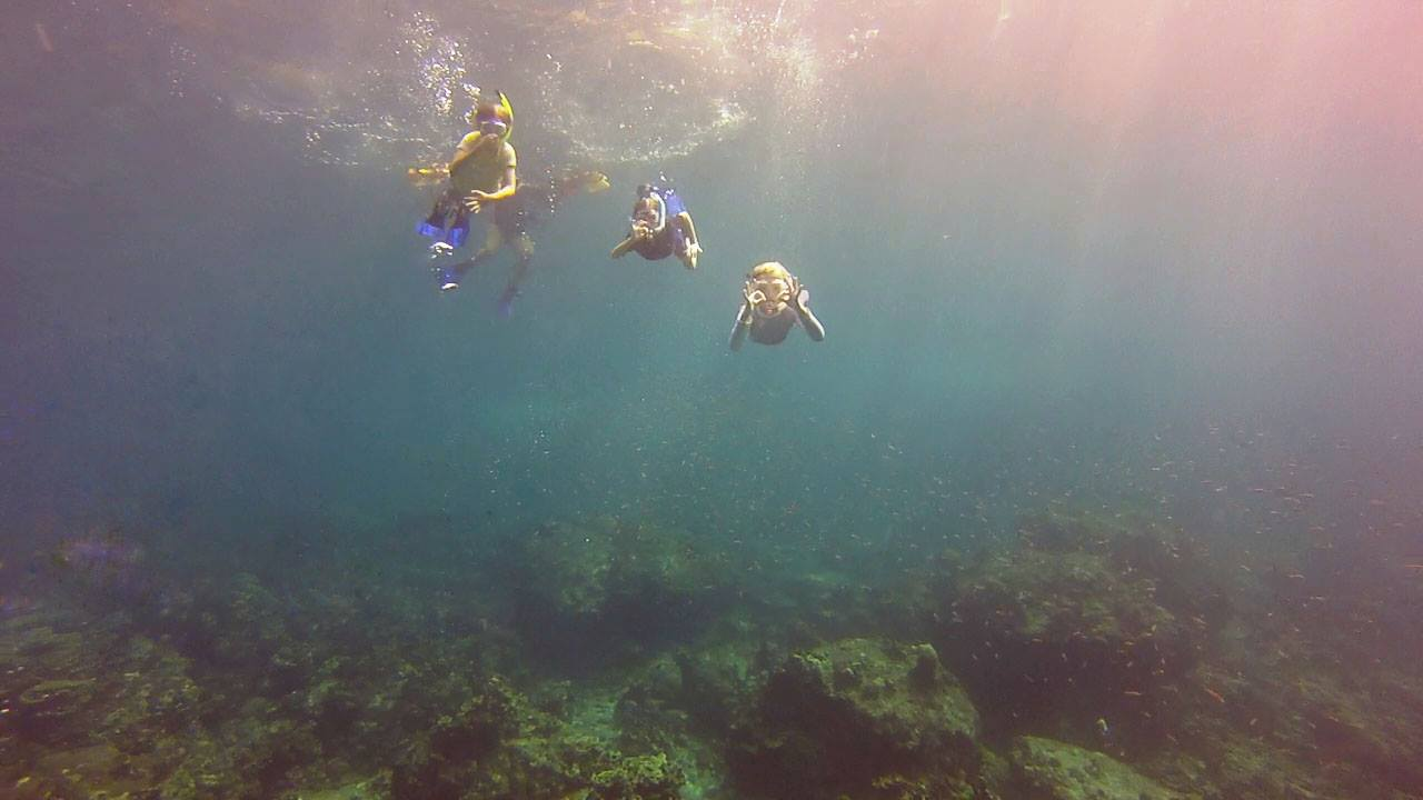 Snorkeling with kids