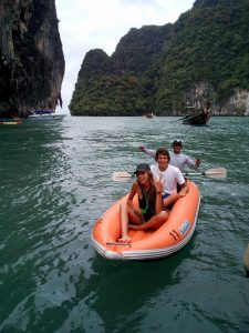Private Phang Nga kayaking