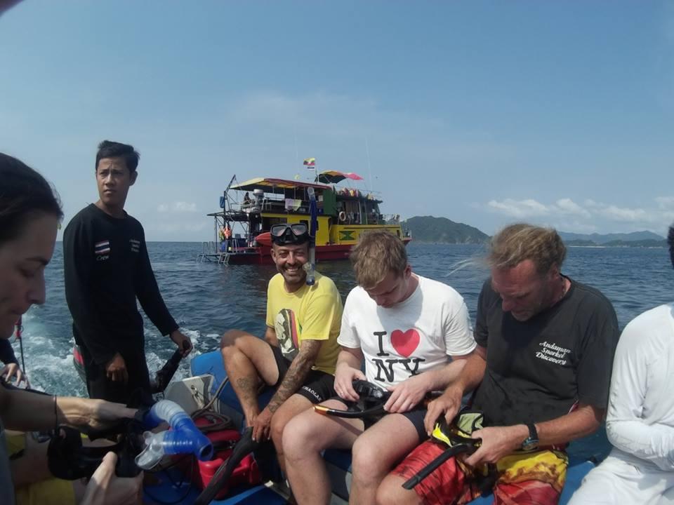 Myanmar snorkeling tour